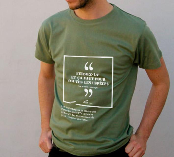 T-Shirt-Vert